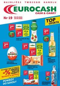 Gazetka promocyjna Eurocash Cash&Carry - Eurocash Cash & Carry - nowa gazetka - ważna do 19-09-2021