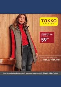 Gazetka promocyjna Takko Fashion - W jesiennej odsłonie z Takko Fashion - ważna do 08-09-2021
