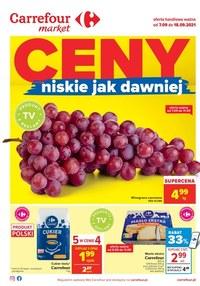 Gazetka promocyjna Carrefour Market - Ceny niskie jak dawniej - Carrefour Market