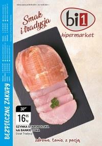 Gazetka promocyjna bi1 - Markety i tradycja - bi1 - ważna do 14-09-2021