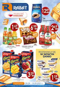 Gazetka promocyjna Rabat - Najnowsze promocje w sklepach Rabat - ważna do 19-09-2021