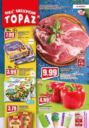 Gazetka promocyjna Topaz - Sklepy dla każdego - Topaz