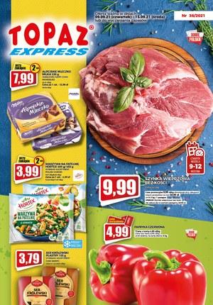 Gazetka promocyjna Topaz - Najlepsze okazje w Topaz Express