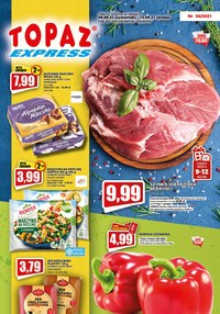 Gazetka promocyjna Topaz - Najlepsze okazje w Topaz Express - ważna do 15-09-2021