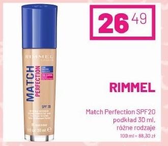 Podkład do twarzy Rimmel niska cena