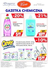 Gazetka promocyjna Vica - Gazetka chemiczna Vica - ważna do 10-09-2021