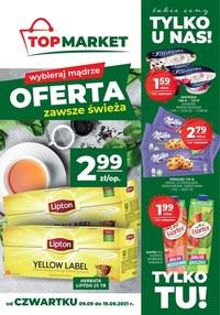 Gazetka promocyjna Top Market - Świeże produkty w Top Market - ważna do 19-09-2021