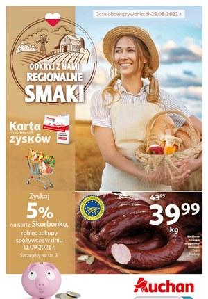 Gazetka promocyjna Auchan Hipermarket - Smaki natury w Auchan!