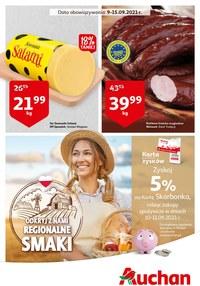Gazetka promocyjna Auchan Supermarket - Odkryj regionalne smaki w Auchan - ważna do 15-09-2021