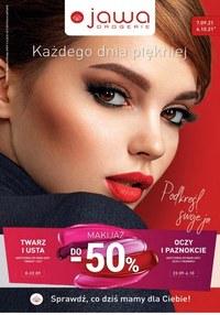 Gazetka promocyjna Jawa Drogerie - Każdego dnia piękniej z Jawa  - ważna do 06-10-2021