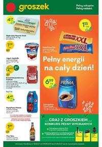 Gazetka promocyjna Groszek  - Graj w zielone z Groszkiem - ważna do 21-09-2021