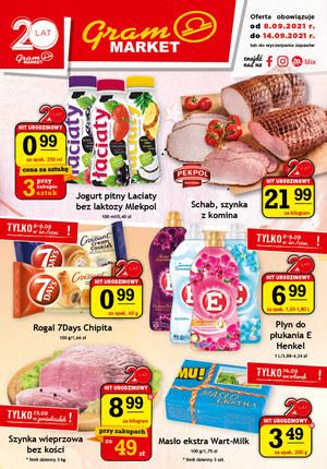 Gazetka promocyjna Gram Market - Zacznij zakupy w Gram Market