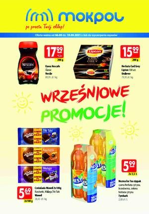 Gazetka promocyjna Mokpol - Wrześniowe promocje w Mokpol