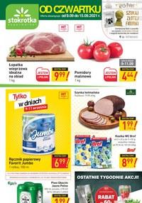 Gazetka promocyjna Stokrotka Supermarket - Szukaj złotej figurki z Stokrotce! - ważna do 15-09-2021