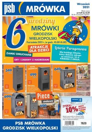 Gazetka promocyjna PSB Mrówka - PSB Mrówka Grodzisk Wielkopolski