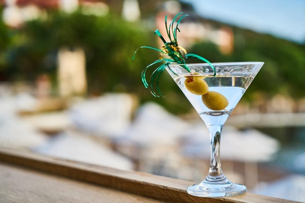 martini z oliwką