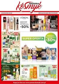 Gazetka promocyjna Drogeria Kosmyk - Super oferta w Drogerii Kosmyk  - ważna do 30-09-2021