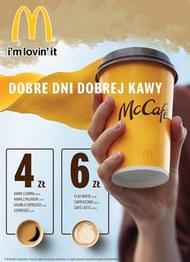 Dobre dni dobrej kawy w McDonald's
