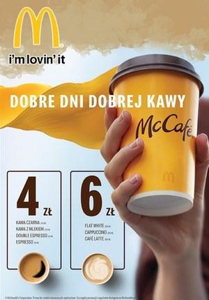 Gazetka promocyjna McDonald's - Dobre dni dobrej kawy w McDonald's