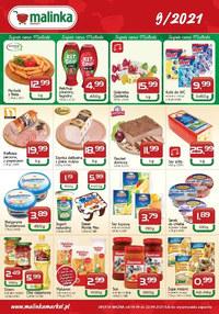 Gazetka promocyjna MALINKA Market - Super cena Malinki  - ważna do 22-09-2021