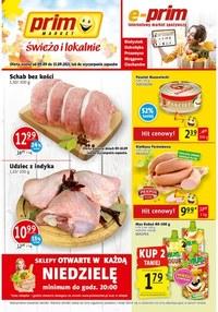 Gazetka promocyjna Prim Market - Świeżo i tanio w Prim Market!      - ważna do 15-09-2021