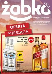 Gazetka promocyjna Żabka - Alkoholowa oferta mięsiąca - Żabka - ważna do 21-09-2021