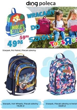 """Gazetka promocyjna Toys""""R""""Us - Wracamy do szkoły z Toys""""R""""Us"""