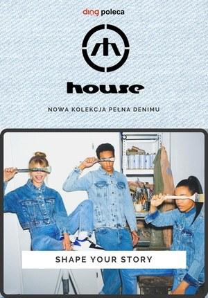 Gazetka promocyjna House - Nowa kolekcja pełna denimu w House