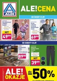 Gazetka promocyjna Aldi - Aldi - ale okazje! - ważna do 25-09-2021
