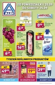 Aldi - tydzień roślinnych produktów