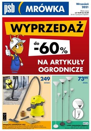 Gazetka promocyjna PSB Mrówka - PSB Mrówka - Chmielnik, Kielce, Piekoszów