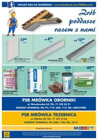 Gazetka promocyjna PSB Mrówka - PSB Mrówka - Oborniki Śląskie, Trzebnica