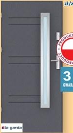 Drzwi zewnętrzne La Garda
