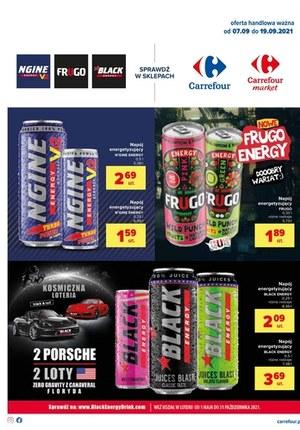 Gazetka promocyjna Carrefour - Napoje energetyczne w Carrefour