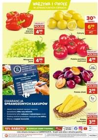 Gazetka promocyjna Carrefour - Targ świeżości z Carrefour