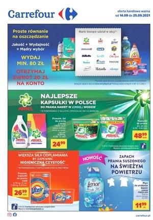Gazetka promocyjna Carrefour - Oszczędzanie z Carrefour