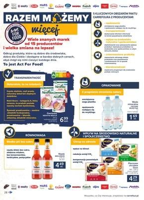 Jeść mądrze z Carrefour