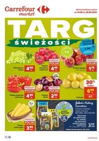 Gazetka promocyjna Carrefour Market - Targ świeżości z Carrefour Market