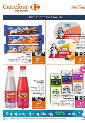 Gazetka promocyjna Carrefour Express - Kupuj więcej w Carrefour Express