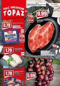 Gazetka promocyjna Topaz - Topaz - sprawdź nowe promocje!