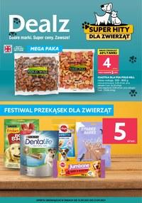 Gazetka promocyjna Dealz - Przysmaki dla zwierzaków w Delaz - ważna do 27-09-2021