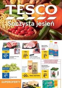 Gazetka promocyjna Tesco Centra Handlowe - Soczysta jesień z Tesco - ważna do 22-09-2021