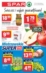 Mistrzowskie ceny w sklepach Spar