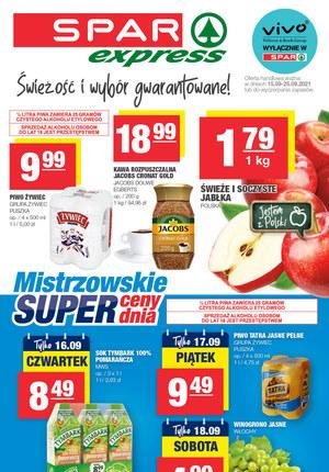 Gazetka promocyjna SPAR Express - Niskie ceny w Spar