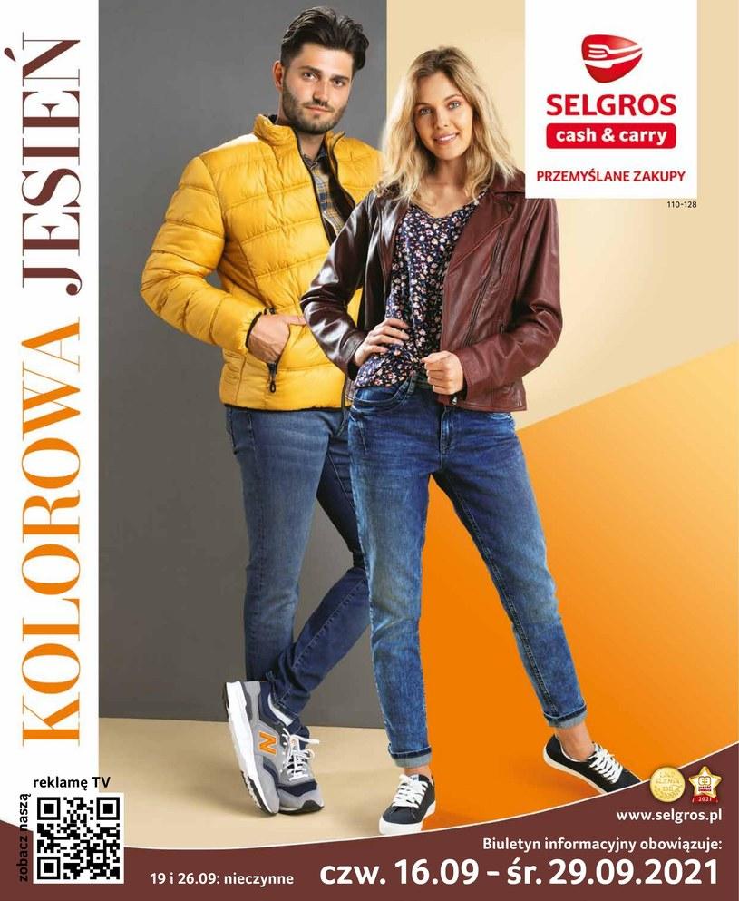 Gazetka promocyjna Selgros Cash&Carry - ważna od 16. 09. 2021 do 29. 09. 2021