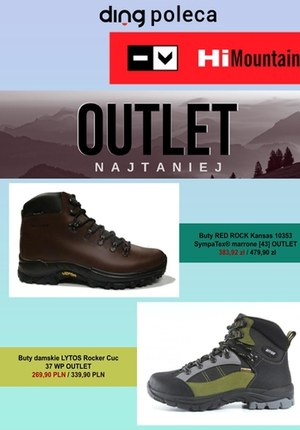 Gazetka promocyjna Hi Mountain - Zakupy w Outlecie Hi Mountain