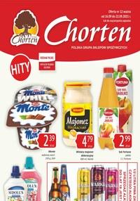 Gazetka promocyjna Chorten - Chorten - hity promocyjne - ważna do 22-09-2021