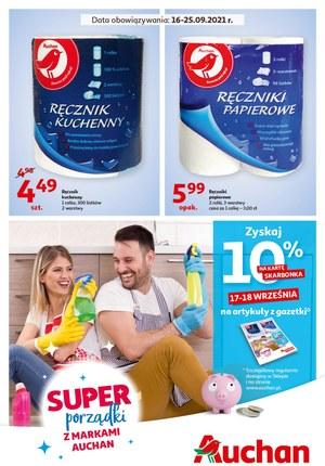 Gazetka promocyjna Auchan Supermarket - Jesienne porządki z Auchan Supermarket!