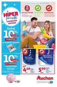 Porządki z markami Auchan!