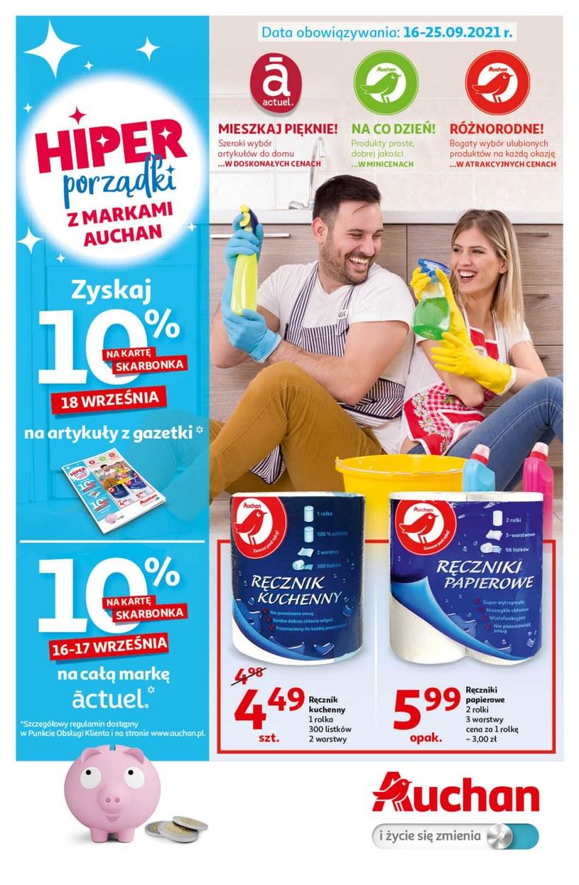Gazetka promocyjna Auchan Hipermarket - ważna od 16. 09. 2021 do 25. 09. 2021